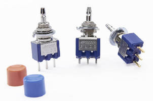 Snap-Action Pushbutton Switches suit power and signal applications.