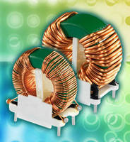 Common Mode Inductors eliminate noise in power supplies.