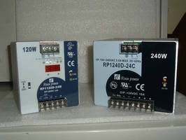 Electrotech Offers Cost Effective DIN Rail Mounted Single and Three Phase Switching Power Supplies