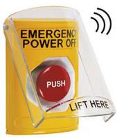 STI EPO Button with Wireless Protective Shield