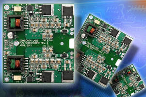 Gate Driver Evaluation Board works with range of power modules.