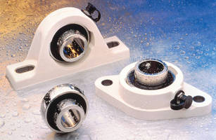 Corrosion-Proof Ball Bearings withstand washdown environments.