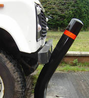 Bendable Bollards assist traffic management and safety.
