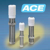 Stainless Steel Shock Absorbers suit long-life applications.