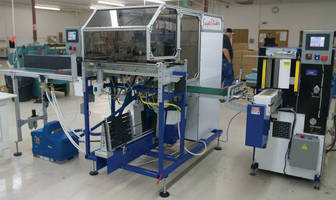 On Demand Machinery Installs an Automated Super Sticker & Super Smasher with Transfer Station at Morris Publishing