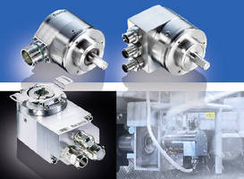 Optical Absolute Encoders meet food and beverage standards.