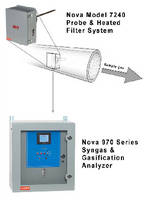 Probe and Heated Filter System filters sample gases.