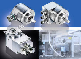 Optical Absolute Encoders have stainless steel housings.