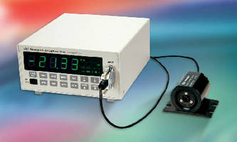 Optical Power Meter measures DC power up to 2 W.