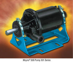 Moyno® 500 Series 301 Pumps Provide Superior Performance in Chemical Applications