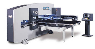 CNC Turret Punch Press handles large and oversized workpieces.
