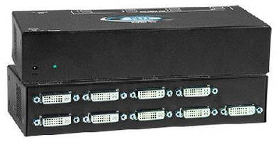 DVI Video Splitters offer 8- and 16-port options.