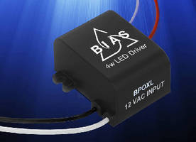 AC-DC LED Drivers power outdoor lighting applications.