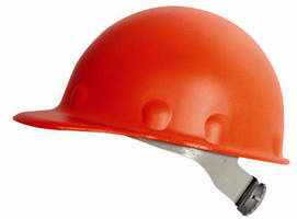 Fiberglass Hard Hat delivers protection and comfort.