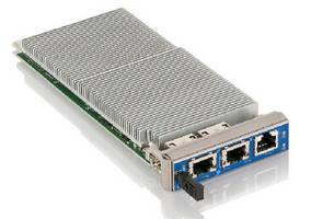 Processor Module offers dual-channel memory up to 8 GB ECC-RAM.