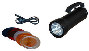 Rechargeable Handheld HID Light offers 2 illumination sources.