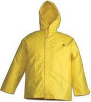 Flame-Resistant Jacket completely seals out moisture.