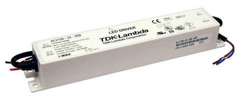 IP66 LED Drivers/Supplies suit lighting, display applications.