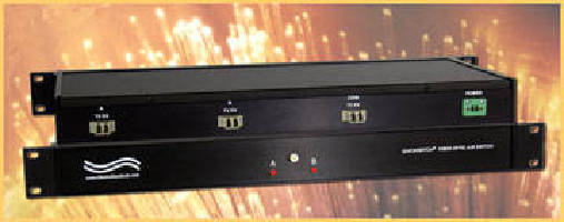 Fiber Optic A/B Switch continues to pass data during power loss.