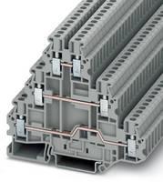 Screw-Clamp Terminal Blocks save DIN rail space.