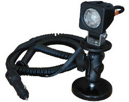 Portable LED Light features double ball joint magnetic mount.