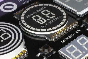 SMD LED Displays measure 1 mm or less in plastic thickness.