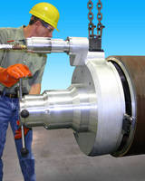 Welding End Prep Tool performs complex operations on large pipe.