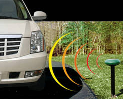 Wireless Monitoring System detects and relays vehicle presence.