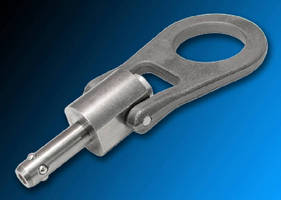 Stainless Steel Shackle Pins suit heavy lifting applications.