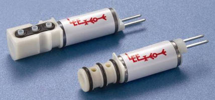 Miniature Solenoid Valve Offers Higher Flow Capacity
