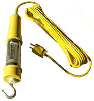 Vapor Proof LED Trouble Light offers food-safe operation.