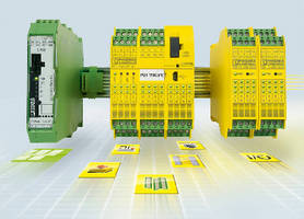 Modular Safety Controller expands I/O in safety circuit.