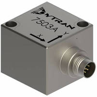 Triaxial MEMS DC Accelerometers measure from 2-200 g.