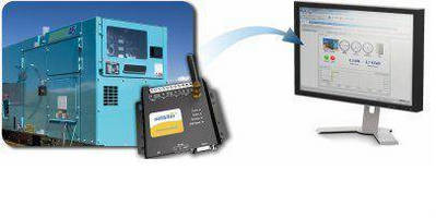 Machinery Monitoring Software enables remote management.