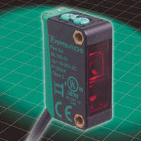 Photoelectric Sensors offer wide-beam reflector-less detection.