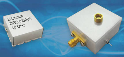 High-Frequency Oscillators offer 8-12 GHz electrical tuning.