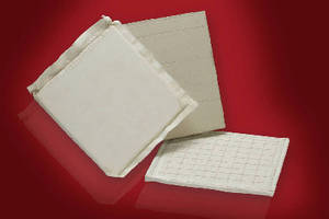 Microporous Insulation Board serves as back up insulation.