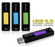 Capless Flash Drive features USB 3.0 connectivity.