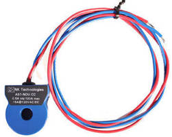 Current Sensing Switch monitors circuits in tight spaces.