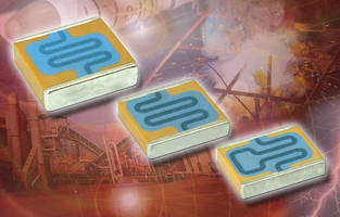 SMT MLCC Capacitor features integrated resistor for rapid discharge.