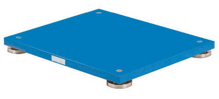 Portable Force Plate is suited for gait and balance analyses.