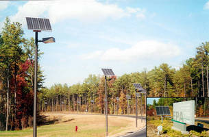 Solar Roadway Lighting at the US EPA Facility in Raleigh, NC