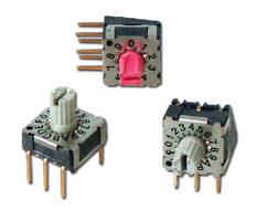 Rotary Dip Switch offers IP67 sealing protection.