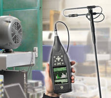 Handheld Sound Intensity System performs in-field measurements.