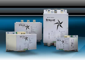 Soft Motor Starters control 3-phase AC induction motors.