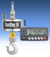 Chatillon® Digital Hanging and Crane Scales are the Solution for a Wide Range of Weighing Applications