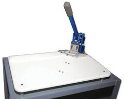 Manual Slicer is designed to produce precise corner cuts.