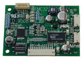 Motion Control Board registers up to 32 operation profiles.