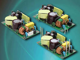 AC-DC Switching Power Supplies deliver 50 W peak power.