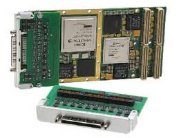 Multi-Function I/O Module plugs into FPGA computing boards.